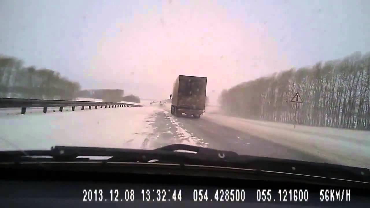 Шокирующие аварии грузовиков в России! аварии