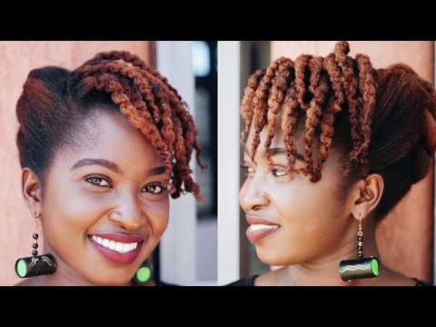 7 Quick and Easy Natural Hairstyles for medium length and long hair || Just Margie