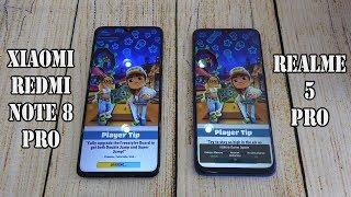 Xiaomi Redmi Note 8 Pro vs Realme 5 Pro | SpeedTest and Camera comparison