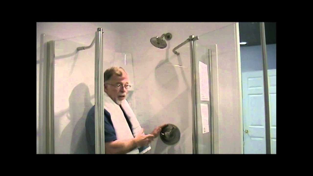 Delta Shower Valve Operation - YouTube
