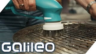 Grill verschmutzt - Welche Gadgets funktionieren? | Galileo | ProSieben