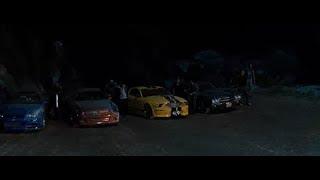 Доминик и Брайн перевозят наркотики через границу  Форсаж 4 Fast & Furious
