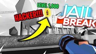 LEVEL 1000 HACKER IN ROBLOX JAILBREAK!!