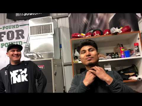 Mikey Garcia & Frank The Cook Get Into It