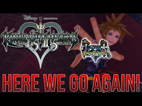 Kingdom Hearts 1.5+2.5 PS4 LIMITED EDITION... There