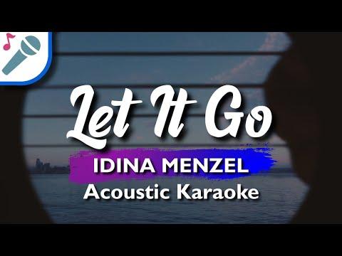 🎤 Frozen - Let It Go - Karaoke Instrumental Lyrics (Idina Menzel)