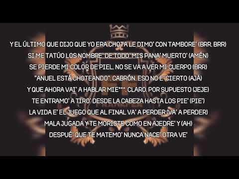 Anuel AA Ft. Kendo Kaponi, Yandel y Nengo Flow – Antes Y Despues (letra/Lyric)