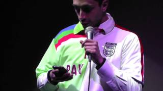 Riz MC @ Book Slam (2013)