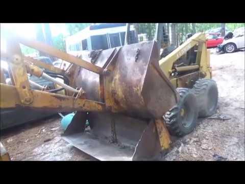 CASE CK580B BACKHOE STEERING REPAIR