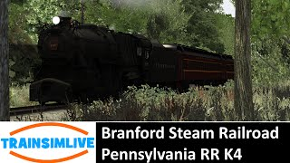 Train Simulator 2015 - Branford Steam RR, PRR K4