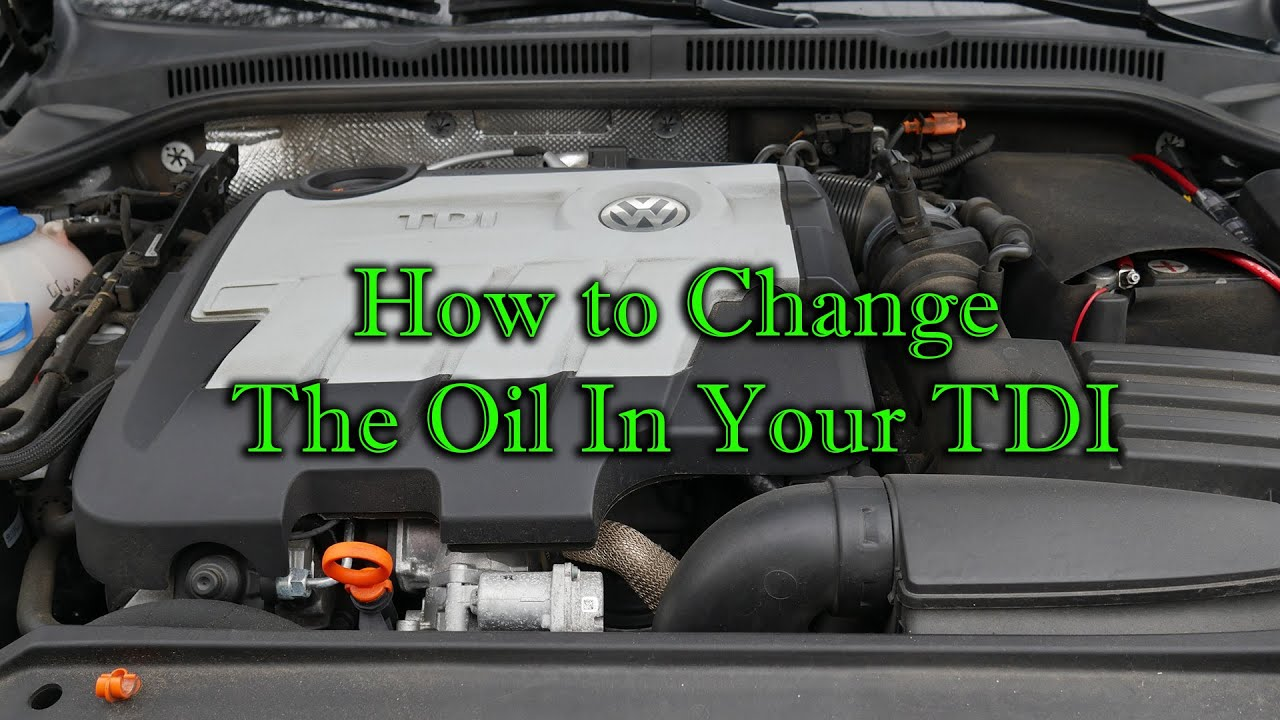 How to Change the Oil in a VW Jetta TDI