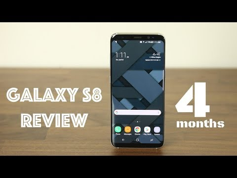 Samsung Galaxy S8 Four Months Later : Does it Suck?