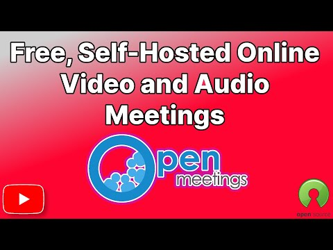OpenMeetings, A Free, Self Hosted, Open Source Video, Audio, Screen Sharing Conference Room.