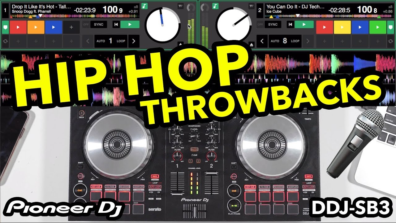 Hip Hop Throwback Remixes - Pioneer DDJ SB3 DJ Mix