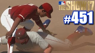I GOT SO MAD THAT MY PHONE ASKED IF I NEEDED HELP! | MLB The Show 17 | Road to the Show #451