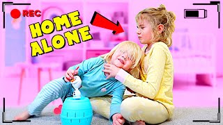 WE Left Them HOME ALONE! 😱