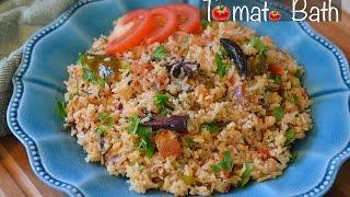Tomato Bath (Karnataka Style) - Megha