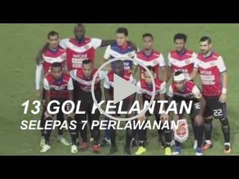 13 Gol Kelantan Selepas 7 Perlawanan Liga Super 2017