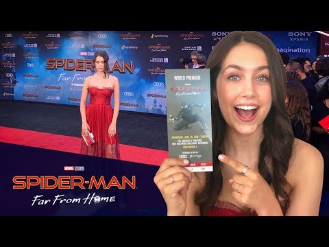 GRWM Spiderman Far From Home RED CARPET Movie Premiere Day