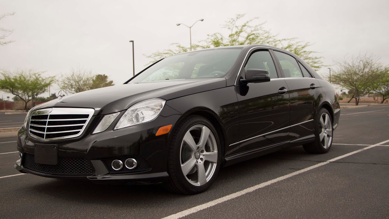 2011 mercedes e350 sedan w amg sport package 0 80 mph youtube. Black Bedroom Furniture Sets. Home Design Ideas