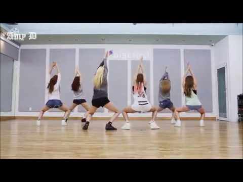 HELLOVENUS  WiggleWiggle Mirrored Dance Practice