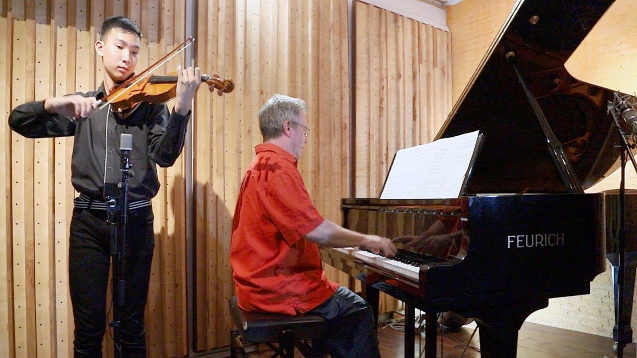"Mayumi Kato ""Language of Flowers"" for violin and piano + FREE sheet music"