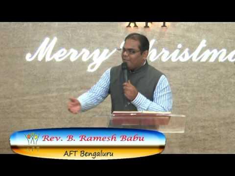 Pastor Ramesh AFT Bangalore Sermon Meditation#12