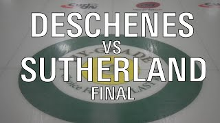 2020 U21 - WOMENS FINAL: Deschenes VS Sutherland