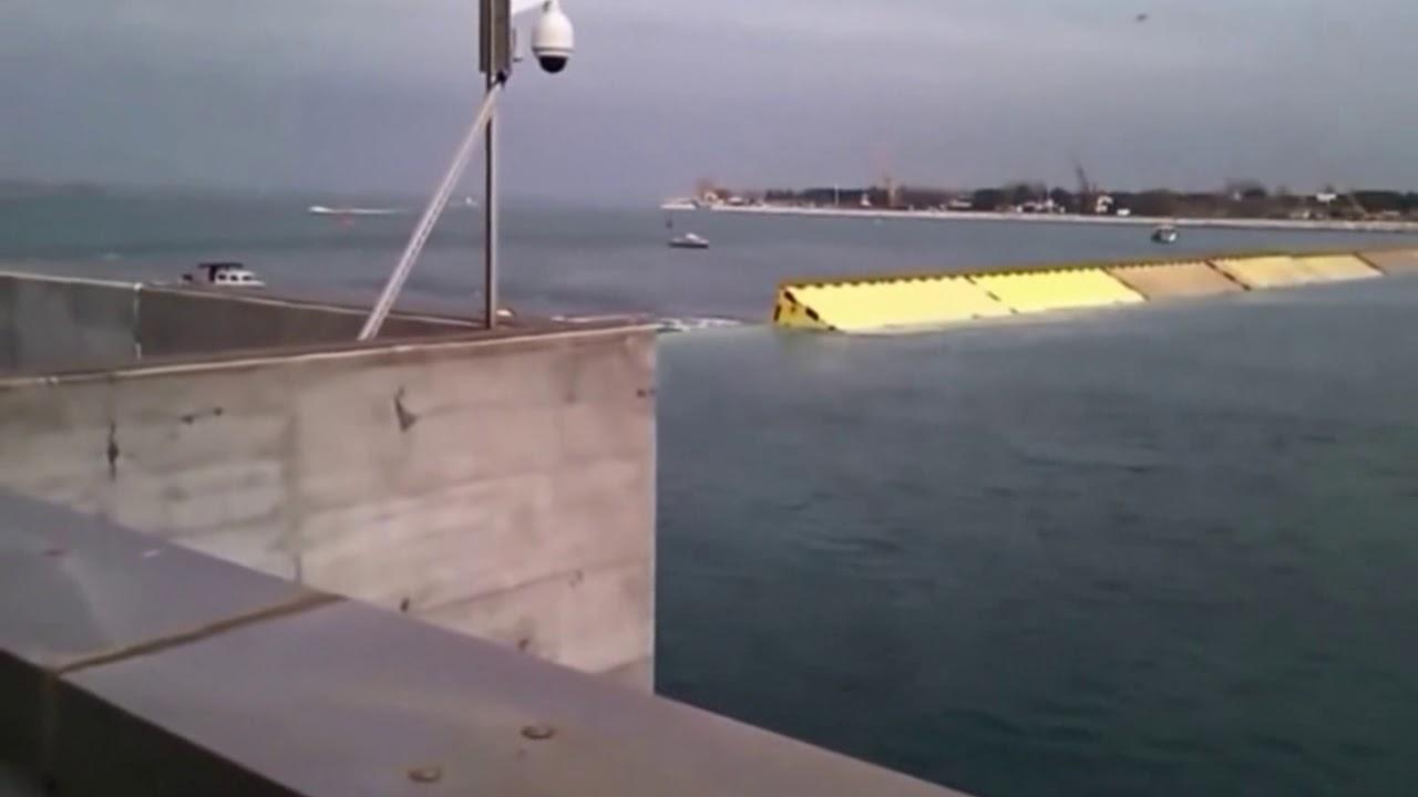 Successful closure of Venice Flood Barrier