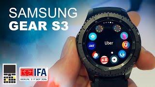 Первый взгляд на Samsung Gear S3 - IFA 2016 - Keddr.com