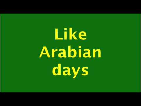 Arabian Nights Lyrics  HD  Chipmunk Version  Original