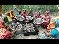 Download 450 Climbing Perch Fish Cutting & Cooking By 15 Women For Whole Village Peoples