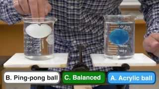 Explained: Beaker Ball Balance Problem