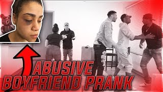 ABUSIVE BOYFRIEND PRANK!! (GETS VIOLENT) 😡😰