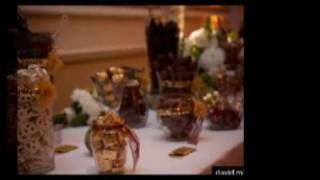 Dina & Javi's Wedding @ Langham, Pasadena &  Chocolate Candy Buffet Station