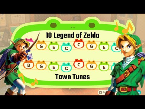 10 Legend Of Zelda Town Tunes For Animal Crossing: New Horizons