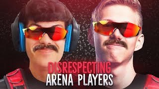 Me and Ronaldo Disrespect Arena Players