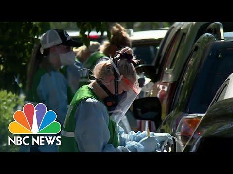 Some States Struggle To Keep Up With Coronavirus Testing Demand | NBC Nightly News