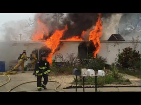 Bennet Nebraska |  Structure Fire in Frigid Temps | 9 Departments | 1/11/18