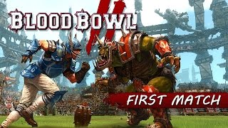 Blood Bowl 2 Xbox One Gameplay - FIRST MATCH