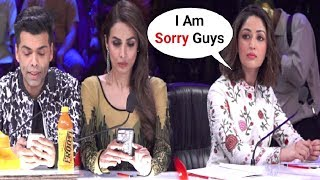 Malaika Arora Khan And Karan Johar Ignores Yami Gautam For Coming Late At Indian