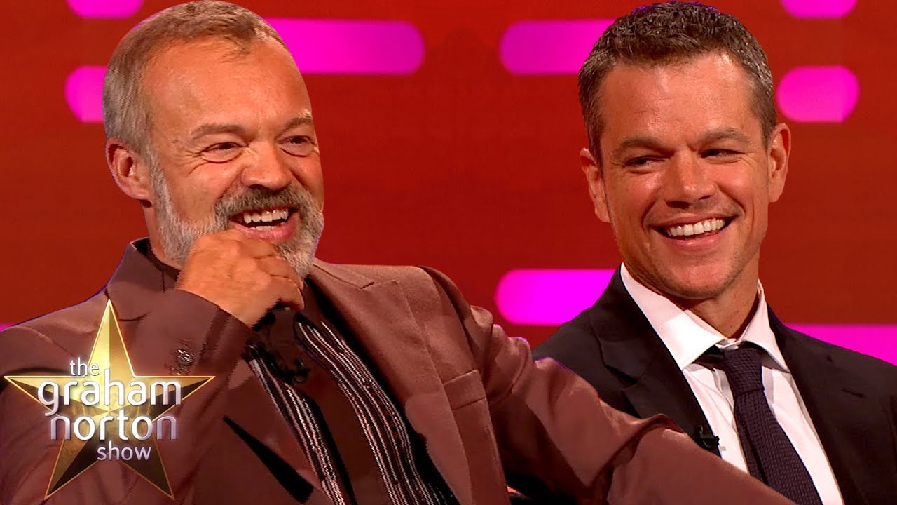 """Matt Damon: """"This is the Most Fun I've Ever Had on a Talk Show"""""""
