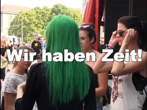 Wir haben Zeit! Internationaler Tag der Arbeitslosen Berlin + Bolschewistische Kurkapelle