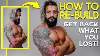 How To Re-Build Fast After Lockdown Gym Break | AVOID FAT & Get MUSCLE BACK! (Free Diet/Training)