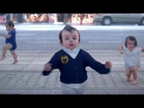 Crazy Baby Dance - Funny children videos