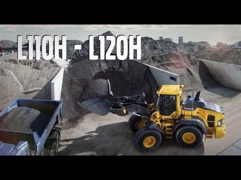 Hjullastare Volvo L110H och L120H - lanseringsfilm