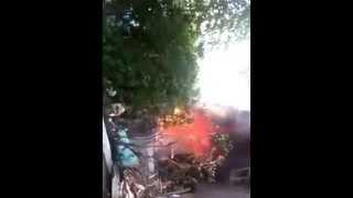 Взрыв газа п.Тюменский /Туапсе/ 10.06.2015