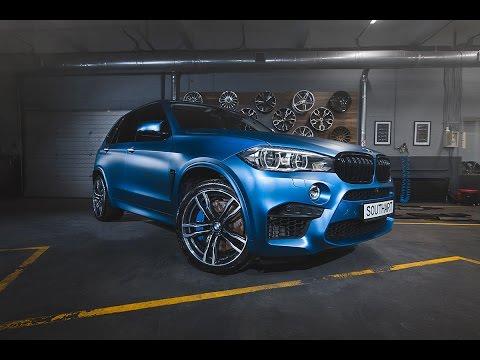 2016 BMW X5M Frozen Clear Matte