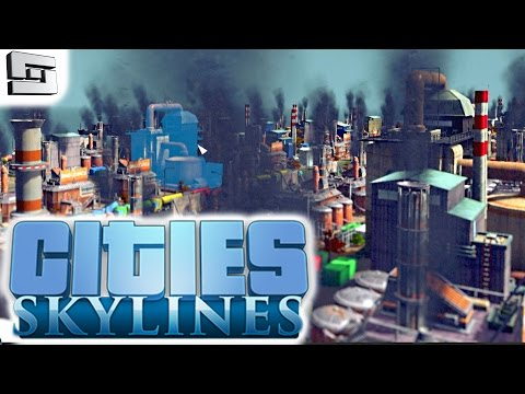 Cities Skylines Gameplay: POLLUTION FTW!!! E17