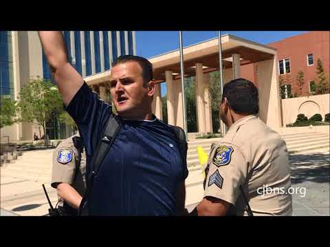 Silicon Valley Police Misconduct: Retaliation & Harassment of Courthouse Protester - Illegal Arrest